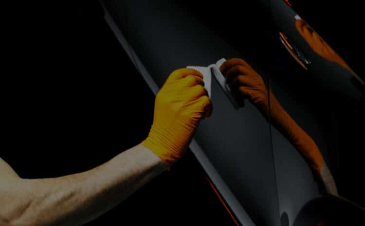 Repairing car door